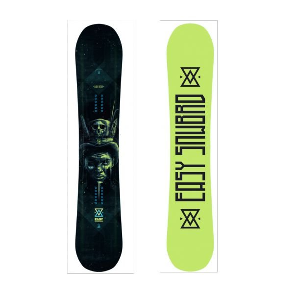 Easy Snowboards Black Torsion 2020 planche de Snowboard