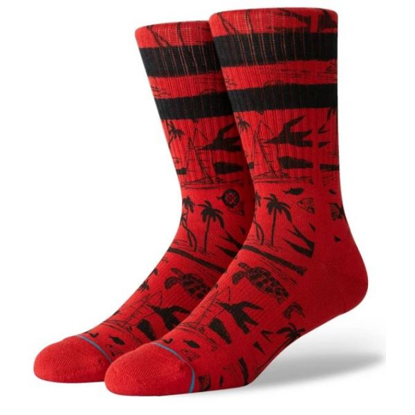 Stance Jjf Voyage Red Chaussettes