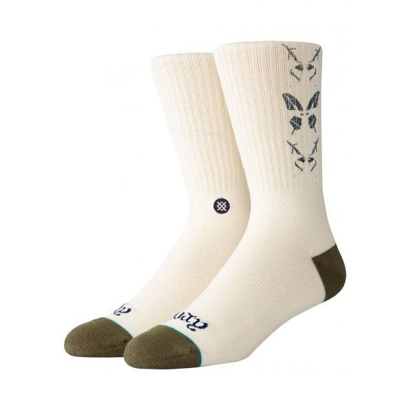 Stance Buttersly Off White Chaussettes