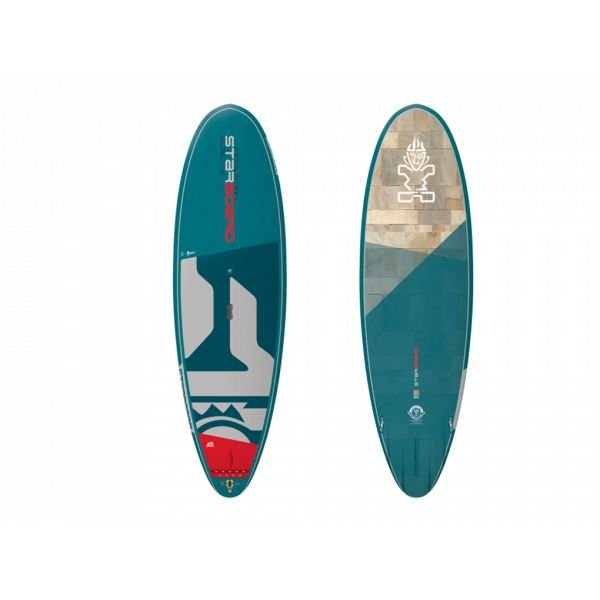 Starboard WIDE RIDE WHOPPER BLUE CARBON SUP rigide Wave 2020