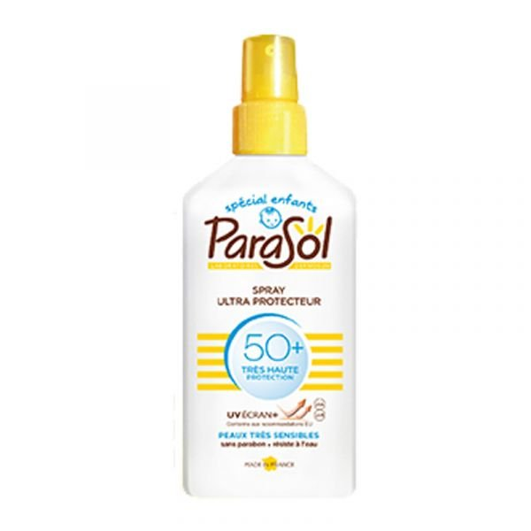 Parasol spray SPF50+ Kids protection solaire