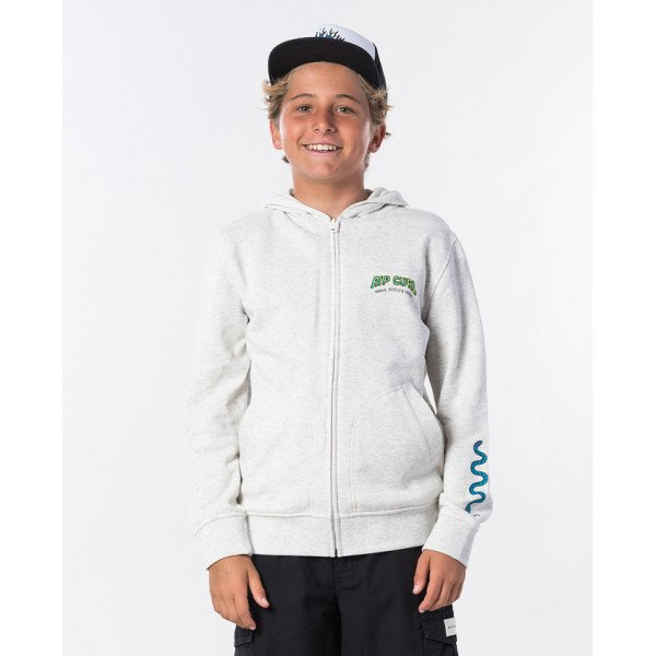 Rip curl Sun Snake White Marle sweat boy 2020