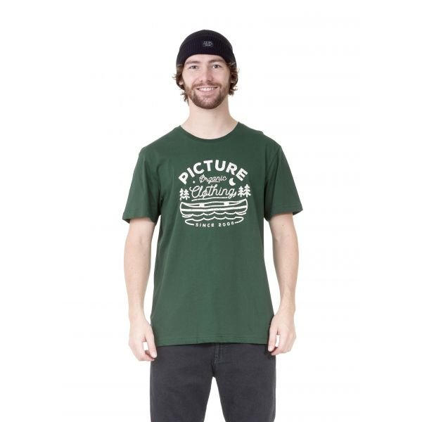 Picture Colter Tee Forest Green Tshirt 2021