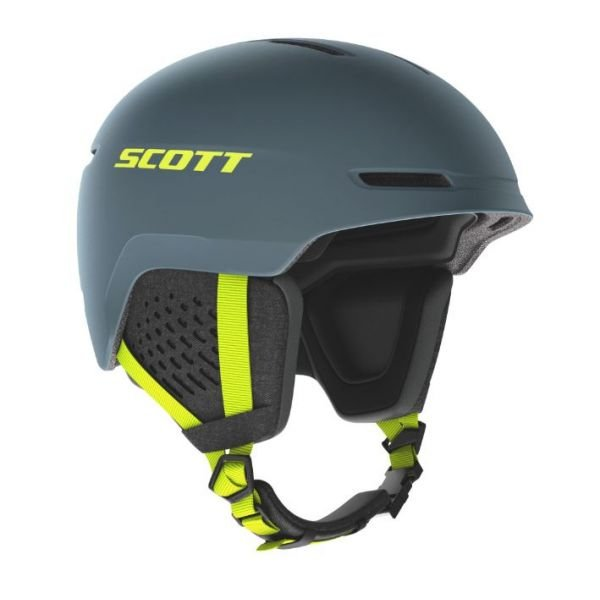 Scott track storm grey/ultralime yel Casque h21