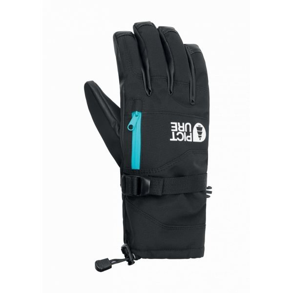 Picture palmer gloves peonies black h21
