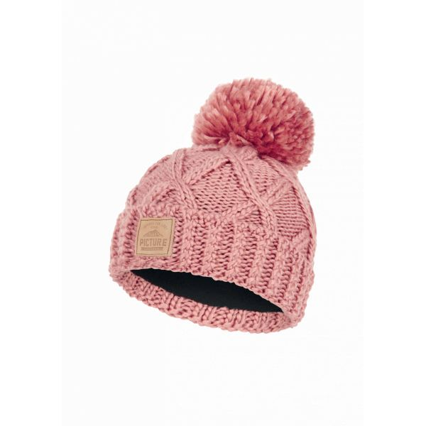 Picture haven beanie misty pink h21