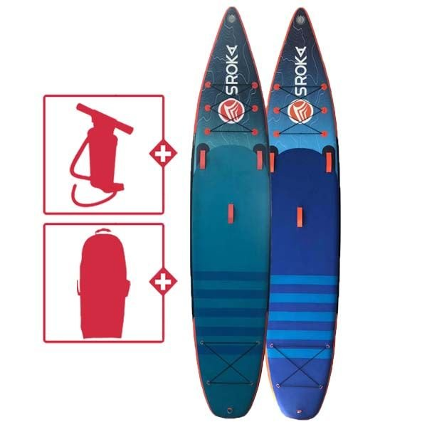 Sroka Alpha 12'6x28x6 SUP gonflable 2021