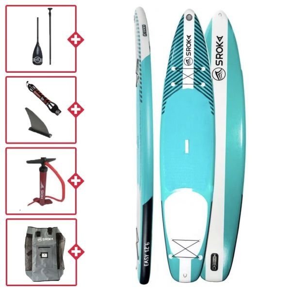 Sroka Pack Easy 12.6x32 Stand up paddle gonflable 2020/2021