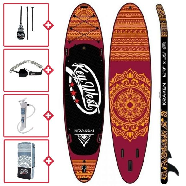 Key West Kraken SUP gonflable 2020
