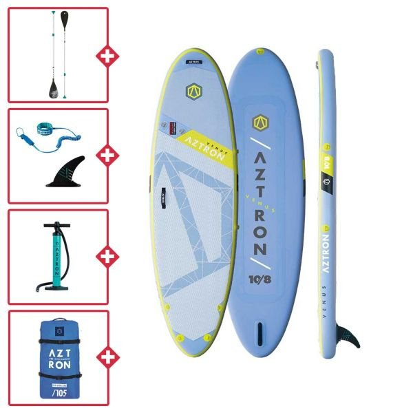 Aztron Venus fitness 10.8x34 Stand up paddle gonflable 2020/2021