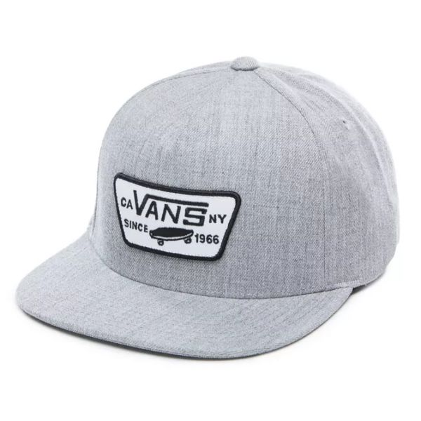 Vans Full patch snapback heather grey casquette homme h22