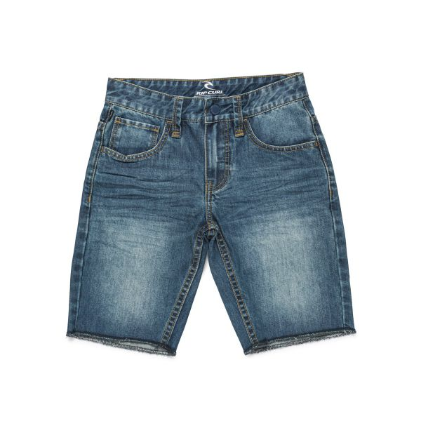 Bermuda Rip-Curl 5 Pocket Denim Bleu