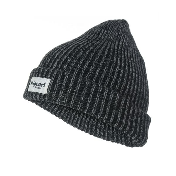 Rip-Curl EVERYDAY BEANIE NOIR Bonnet 2019