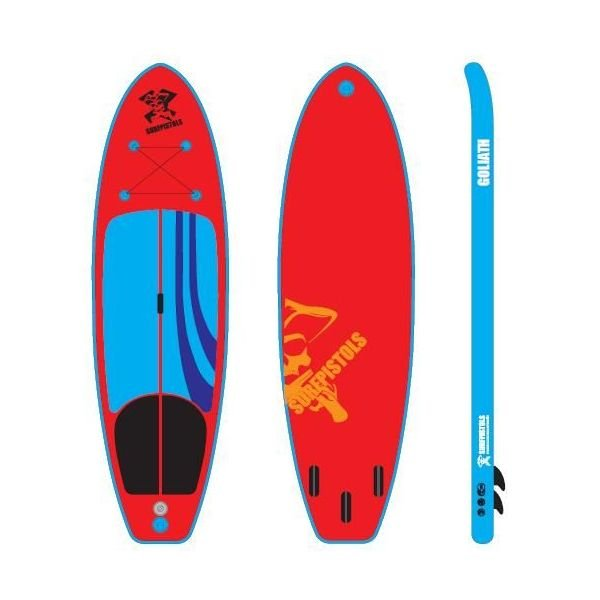 Surfpistols Isup goliath 10'6 SUP 2019