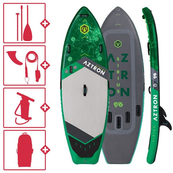 Aztron Sirius White DC gonflable SUP 2019