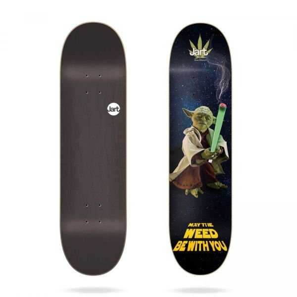 "Jart Weed Nation ""Yoda"" 8.0 Plateaux skate 2019"
