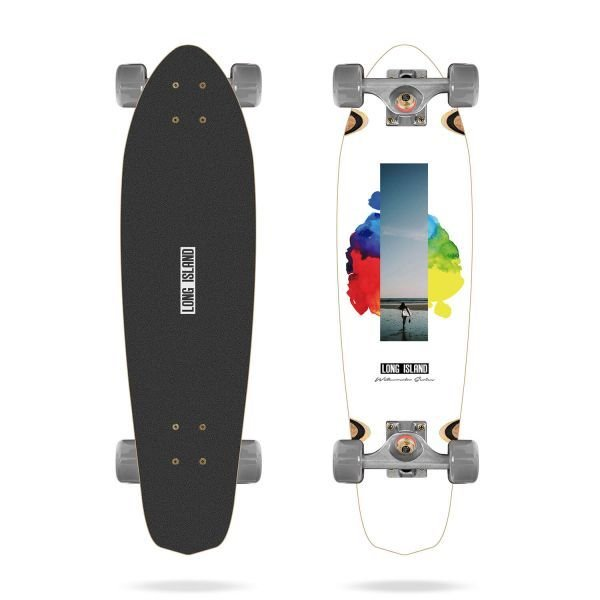 Long Island Watercolor 28x7.5 Cruiser Longboards 2019