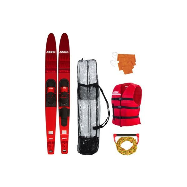 "Jobe Allegre 67"" Combo Skis Red Package 2019"