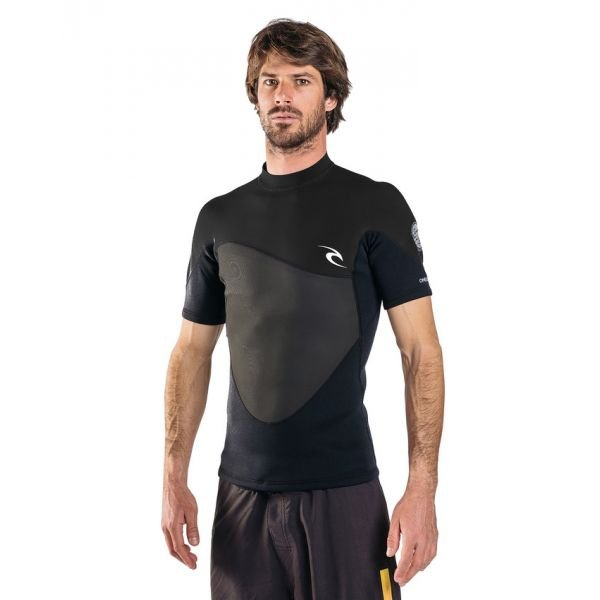 Rip-Curl Omega 1,5 mm Black T-Shirt 2019
