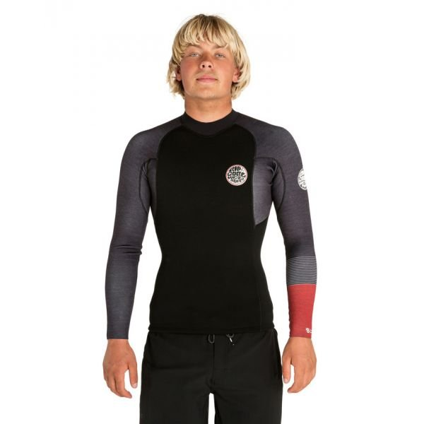 Rip-Curl E bomb 1,5 mm black/red Top 2019