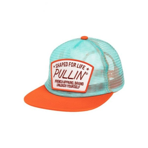 Pull-in Fisher Aqua Casquette 2019