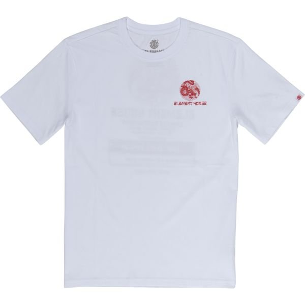 Element DELIVERY SS OPTIC WHITE TEE SHIRT 2020
