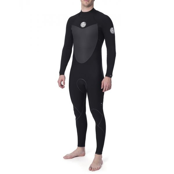 Rip-Curl Flashbomb 53gb B/Zip Black Combinaison neoprene