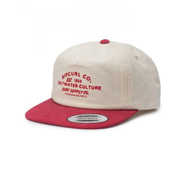 Rip-Curl Supply Co Sb Red Casquette