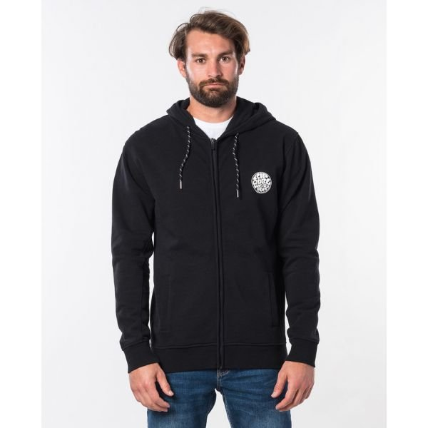 Rip-Curl Original Weety Fleece Black Sweatshirt