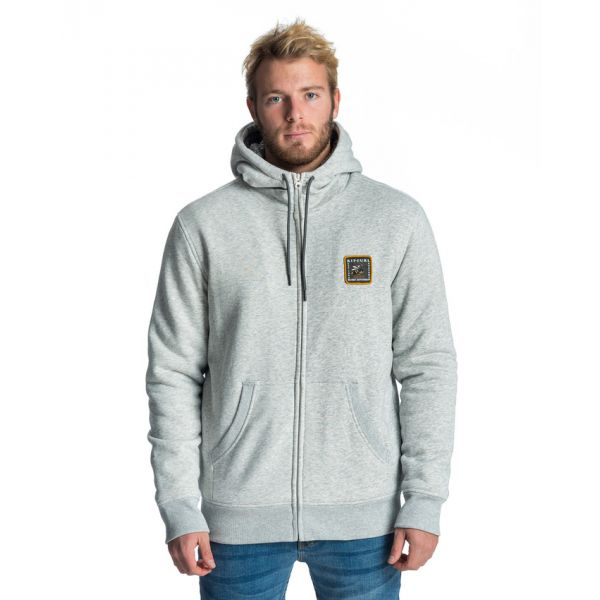 Rip-Curl Aggro Fleece Cement Marle Sweatshirt
