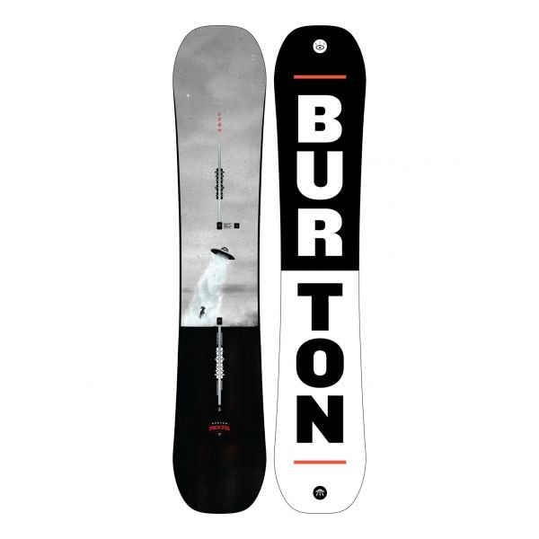 Burton PROCESS FV NO COLOR planche de snowboard 2020