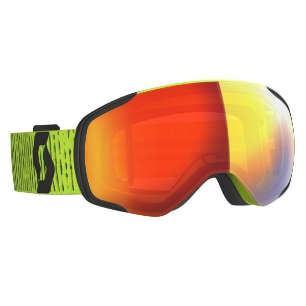 Scott Vapor yellow/enhancer red chrome Masque de ski 2020