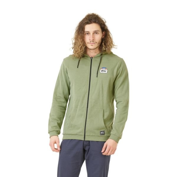 Picture DAWN ZIP HOODIE SWEATER A Army Green 2020