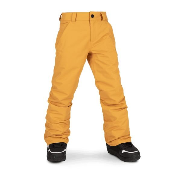 Volcom FREAKIN SNOW CHINO RESIN GOLD Pantalon de snow 2020