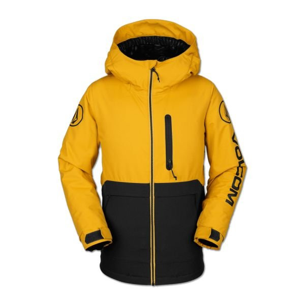 Volcom HOLBECK INS JACKET RESIN GOLD Veste de snow 2020