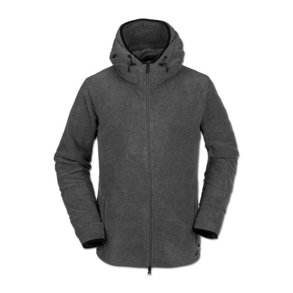 Volcom POLARTEC® FLEECE HEATHER GREY Polaires 2020