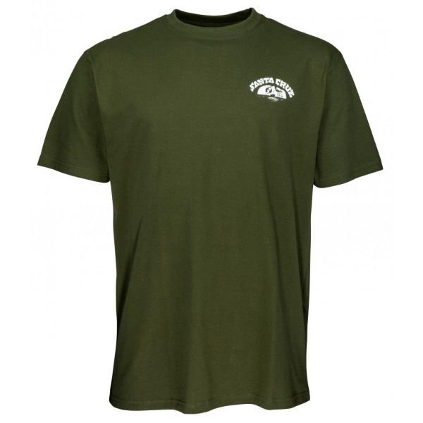 Santa Cruz Horizon Tee Military Green T-Shirt 2020