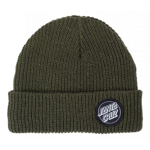 Santa Cruz Outline Dot Beanie Military Green Bonnet 2020