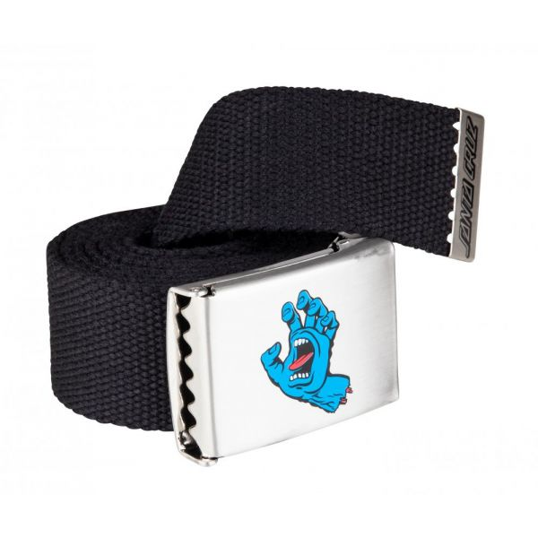 Santa Cruz Screaming Mini Hand Belt Black Ceinture 2020