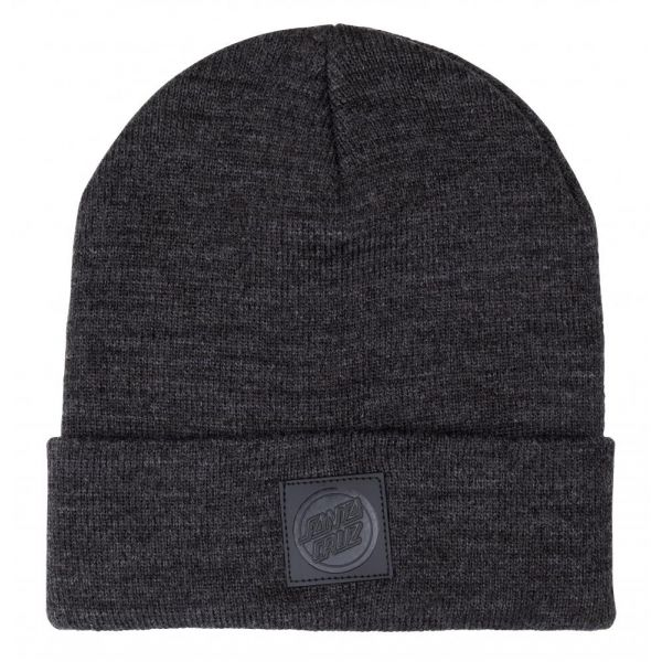 Santa Cruz Stet Beanie Charcoal Heather Bonnet 2020