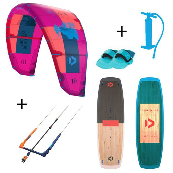 Pack Duotone Dice + Gonzales 2019 Package kitesurf 2019
