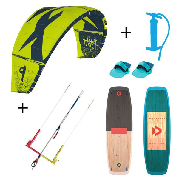 Pack F-one Bandit + Gonzales Package Kitesurf 2019