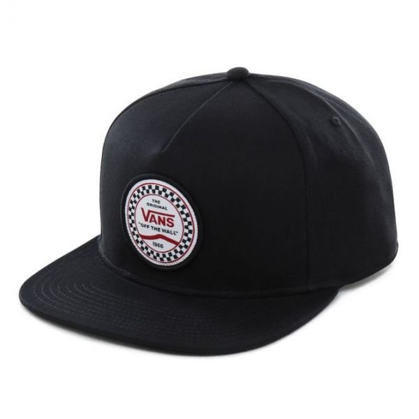 Vans CHECKERED SIDE SNAPBACK Black Casquette
