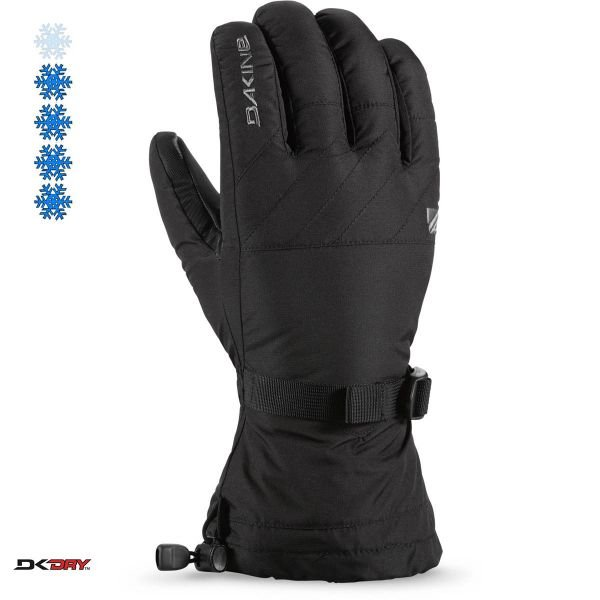 Dakine TALON GLOVE BLACK Gants 2020