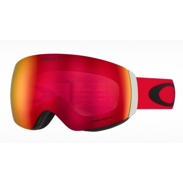 Oakley Flight Deck XM Red Black Ecran Prizm Torch Iridium Masque ski snow 2020