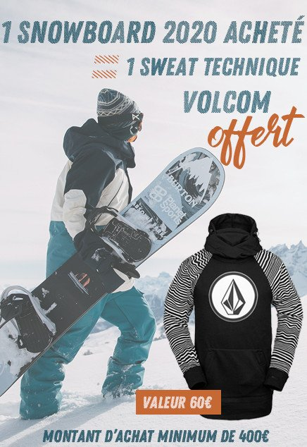 Sweat Volcom offert